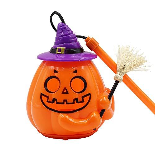 wintefei Halloween Sound Control Pumpkin LED Lamp Jack O Lantern Fun Handheld Kids Children Light Toy (Halloween Tombstone Funny Names)