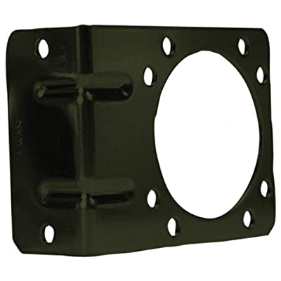 POLLAK 12-711U Right Angle Mounting Bracket for 7-Way Trailer Connector: Automotive
