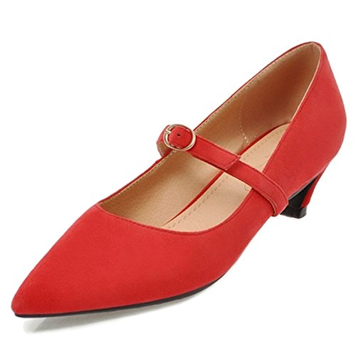 Femme Smilice Pointe Fine Synthtique Rouge ZBwdTxqB