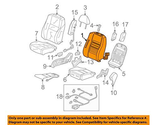 Honda Genuine (81127-TE0-A41) Seat Back Pad with OPDS -
