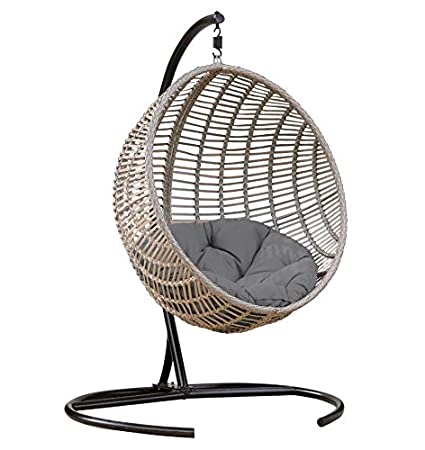 Stupendous Amazon Com Egg Chair With Stand Nest Hammock Outdoor Swing Short Links Chair Design For Home Short Linksinfo
