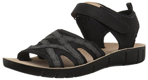 - LifeStride Women's Juno Sandal, Black, 6 M US