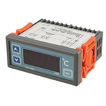 45C bimetálico termostato Térmica sensor do interruptor, 250 V,