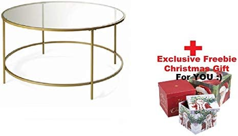Better Homes and Gardens Nola, Gold, Coffee Table Exclusive Freebie for You