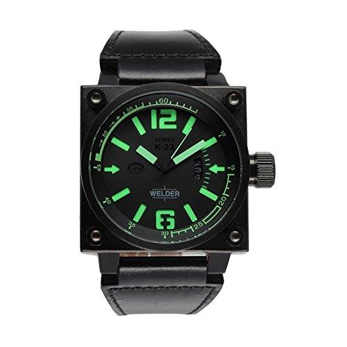 Coffret reloj Welder hombre K-23 modelo Data negra y verde – 1704/K23