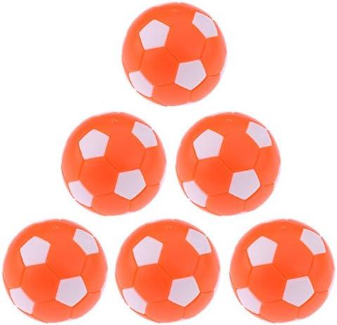perfk 6 piezas bolas de repuesto Benzema de fútbol Futbolín Futbolín accesorios 36 mm – Multicolor, blanco: Amazon.es: Deportes y aire libre
