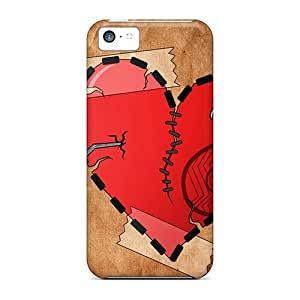 Hot Snap-on Coeur Hard Covers Cases/ Protective Cases For Iphone 5c