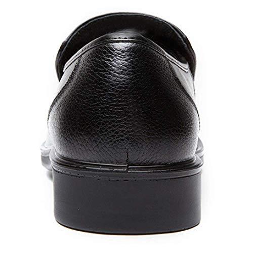 Casual 38 Gomma Business Traspirante Uomo in Black Confortevole Broch Scarpe Pelle XwqxTtR1v