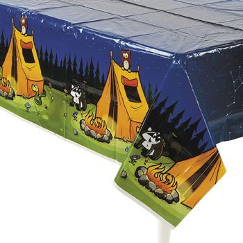 Camping Camp Adventure Plastic Tablecover for this tangy coleslaw recipe