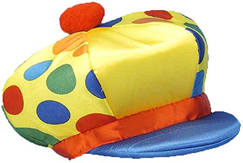 Costume The Chuckles Clown (Yellow Jumbo Clown Hat with Polka)