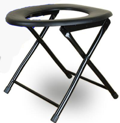 折り畳み高齢者障害者男性と妊娠中の女性スチールシャワーと入浴ルームモバイル便座の椅子快適な安全なトイレスツール滑り止め   B07DNZ1KL4