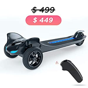 TOMOLOO Two Wheels Electric Scooter, Hoverboards with Bluetooth Speakers and Led Lights, Self Balancing Hover Board for Kids & Adults- UL2272 Certified