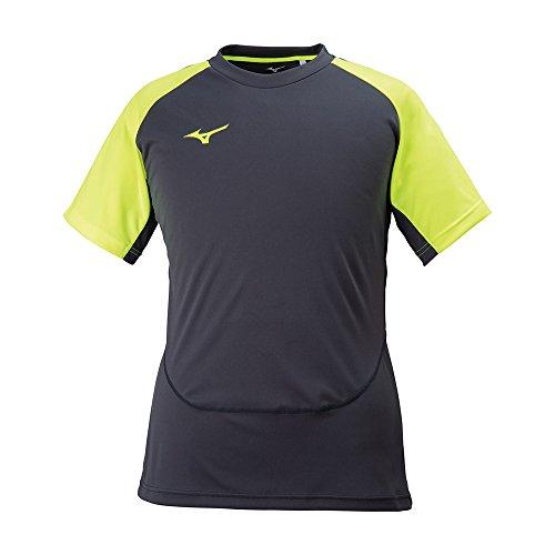 ゴミ魅惑的な気まぐれなMIZUNO(ミズノ) ジュニア サッカーウェア 半袖Tシャツ ソーラーカットフィールドシャツ P2MA8146