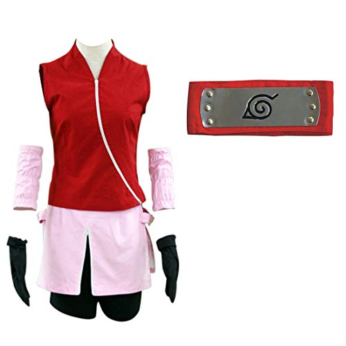 Another Me Anime Naruto Shippuden Haruno Sakura Women's
