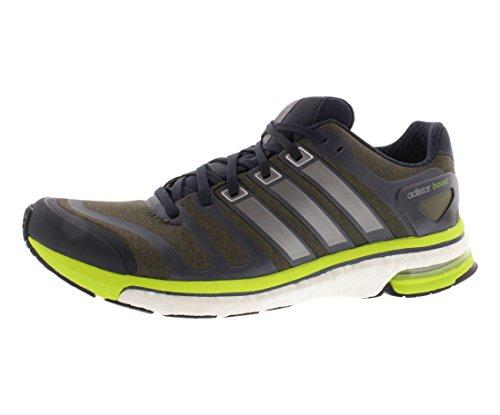 Adidas Adistar Boost M Mens Skor Storlek Jord Grön / Neo Järn
