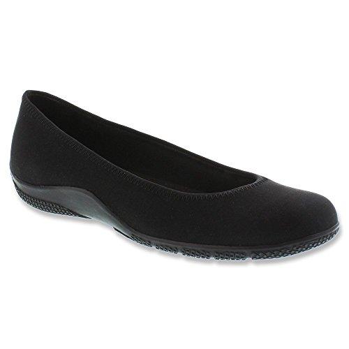 Footwear Walking Cradles (Walking Cradles Women's Dee, Black Micro, 8.5 W US)