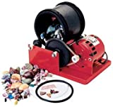 Tru-square Metal Products Single Barrel Rock Polishing Tumbler and Geology Kit with Grit and Accessory Kit