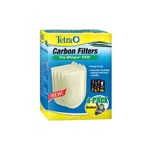Tetra Whisper EX Carbon Filter Cartridges – Ready to Use