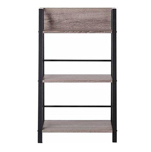 Mainstays 3-Shelf Bookcase, Reclaimed Wood