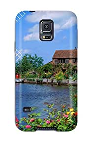 Hot Case Cover Galaxy S5 Protective Case Hunsett Mill Norfolk England 3377042K76622179