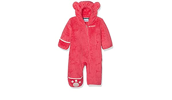111030e8559d33 Amazon.com  Columbia Foxy Baby II Bunting Snowsuit 3-6 Months Punch Pink   Clothing