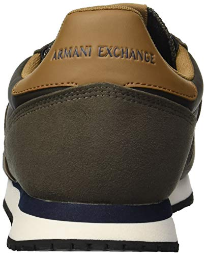 X Exchange Brown Dark Armani Running A Retro Men SwPg66dq