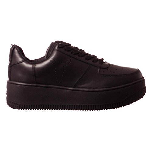 Nero Collo a Windsor Donna Alto Smith Leather Racerr Sneaker WnWzp8Uq