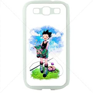 HUNTER¡ÁHUNTER Manga Anime Comic for Samsung Galaxy S3 SIII I9300 TPU Soft Black or White case (White) wangjiang maoyi