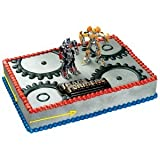 Transformers Bumblebee and Optimus Party Cake Topper Set