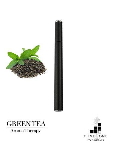 Organic Green Tea Inhaler - COFFEE ALTERNATIVE - ENERGIZE QUICKLY - HANDHELD DIFFUSER