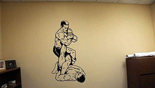 Martial Stickers Decals MMA Vinyl Wall Decor UFC Fight Fighters Sport Vinyl Arts Mixed MK2569
