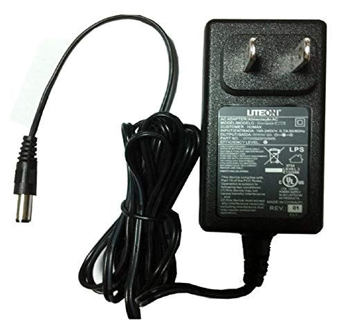 UpBright [UL Listed] 6FT Long Cable 12V AC/DC Adapter For AT&T Cisco 3G MicroCell DPH151-AT 4035800 DPH153-AT 4039113 65107 ATT Phone Signal Booster DHP151-AT DHP153-AT Wilson 859903 AH1812-B 12VDC PS