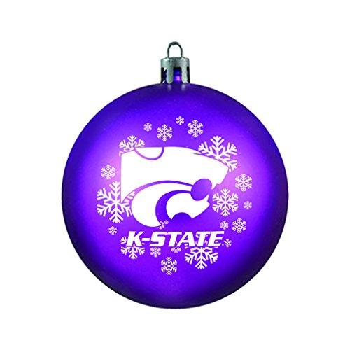 - NCAA Kansas State Wildcats Shatterproof Ornament