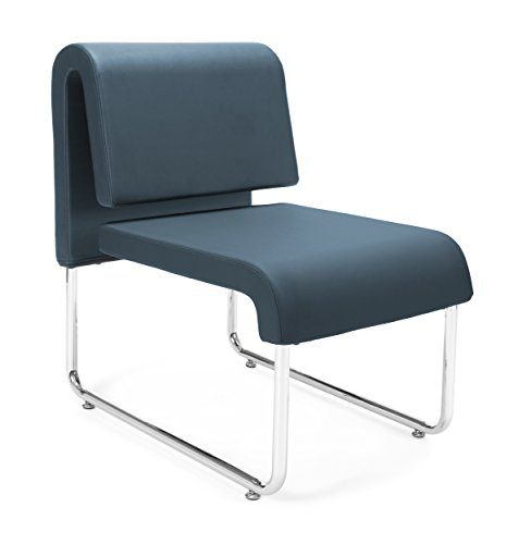 OFM Uno Series Lounge Chair, Navy