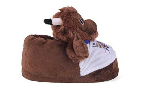 Mascot Slippers Mens Officially and Feet Feet and City Comfy NBAMascot Womens Happy Thunder Slipper Licensed Oklahoma wxgUqT6