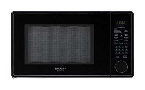 Sharp R-409YK Sensor Microwave (1.3 cu.ft.), Black, Standard