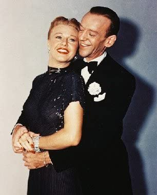 Fred Astaire Ginger Rogers 10x8 25x20cm Colour Photo Amazon Co Uk Kitchen Home