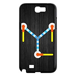 Samsung Galaxy Note 2 N7100 Phone Case Back To The Future Flux Capacitor AL389749