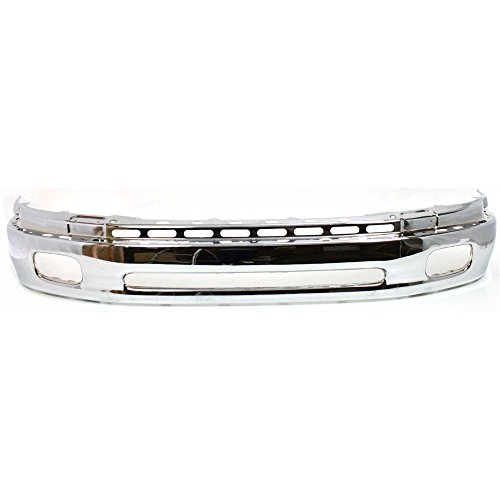 Bumper Compatible with Toyota Tundra 00-06 Front Bumper Lower Chrome Steel Type