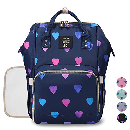 Diaper Backpack Baby Nappy Bag - TravelOutdoor Organizer Water-Resistant Multi-Function Maternity Bag for Mon Daddy best to buy