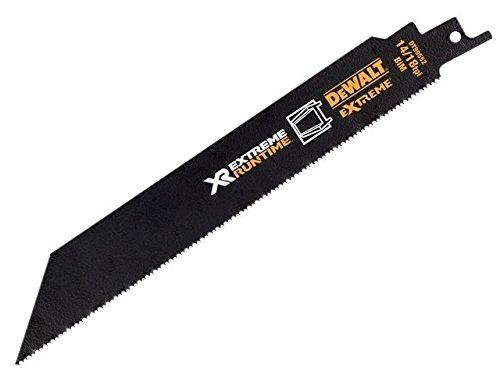 DeWALT レシプロソー替刃 カット長さ203mm 14/18 TPI歯 DT99552-QZ B01JIYJWR0