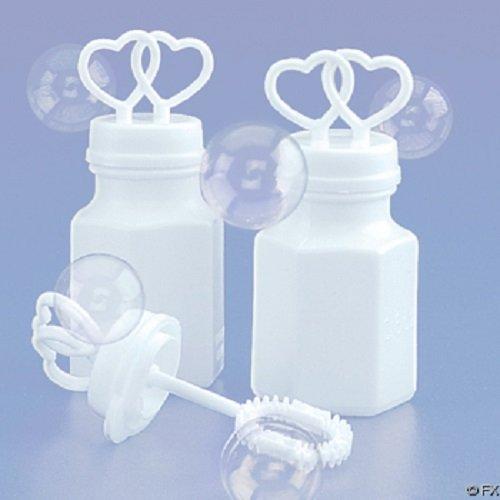 Double Wedding Bubbles Bridal Favors