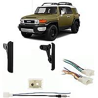 Fits Toyota FJ Cruiser 2011-2014 Double DIN Harness Radio Install Dash Kit