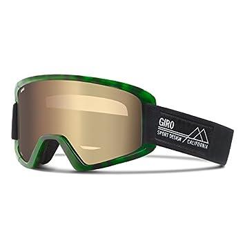 nouvelles promotions économiser jusqu'à 80% comparer les prix Giro Demi-Masque de Ski Mixte Vert/Noir Taille Unique ...