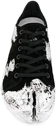 Luxury Fashion | Maison Margiela Heren S57WS0252P2519H1130 Zwart Katoen Sneakers | Lente-zomer 20