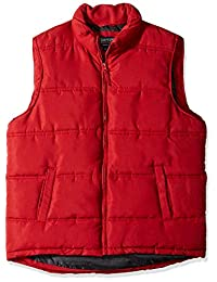 Smith's Workwear Mens Double Insulated Puffer Vest Work Utility Outerwear