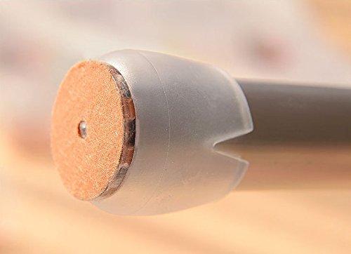 YCNK 36pcs Transparent 16-20 mm Kaliber Rundboden Rundstuhlbein /Öffnungs Caps Gummif/ü/ße Schutz Pads M/öbel Tischabdeckungen