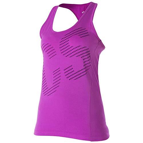 Graphic Morado Correr small Women's Extra Trägershirt Asics aw15 nbsp; C46SSd