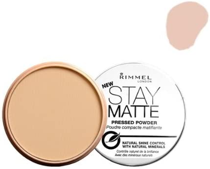 3 Pack) RIMMEL LONDON Stay Matte Long Lasting Pressed Powder - Natural: Amazon.es: Belleza