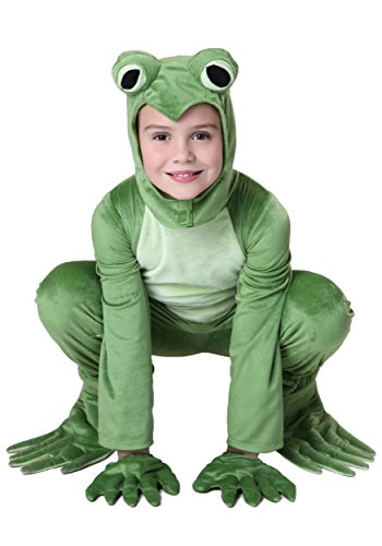 Big Boys' Deluxe Frog Costume Large